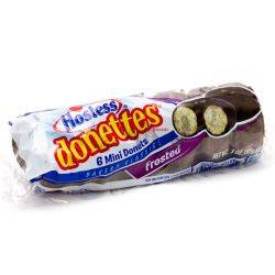 Hostess Donettes Chocolate Frosted 3oz