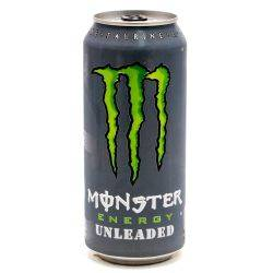 Monster Energy Drink Unleaded 15.5oz Can