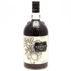The Kraken Black Spiced Rum 1.75L