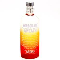 Absolut Apeach 750ml