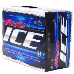 Bud Ice 12X12oz Cans