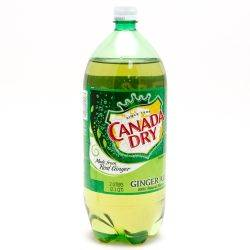 Canada Dry Ginger Ale 2L Bottle