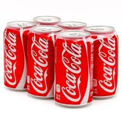 Coca-Cola - 6 pack - 12oz Cans