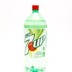 Diet 7 Up 2L Bottle