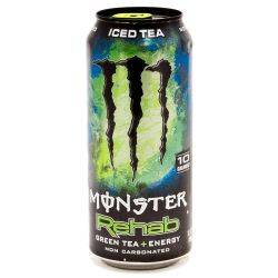 Monster Energy Drink Green Tea+Energy...