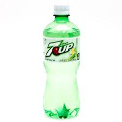 Diet 7-Up 20oz Bottle