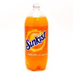 Sunkist Orange Soda 2L Bottle