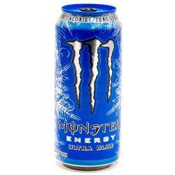 Monster Energy Drink Ultra Blue...