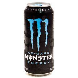 Monster Energy Drink Lo-Carb 15.5oz Can