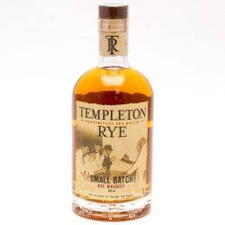 Templeton Rye Whiskey 750ml
