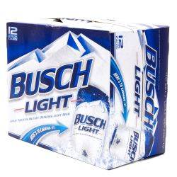 Busch Light 12X12oz Cans