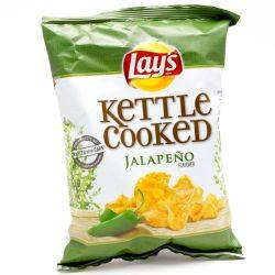 Lays Kettle Cooked Jalapeno Potato...