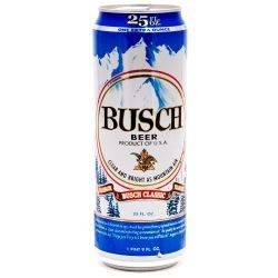 Busch Beer 25oz