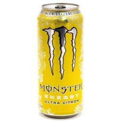 Monster Energy Drink Ultra Citron...