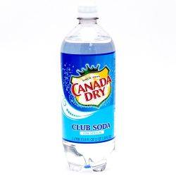 Canada Dry Club Soda 33.8oz