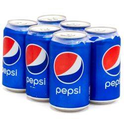 Pepsi - 6 pack - 12oz Cans