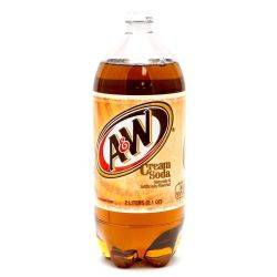 A&W Cream Soda 2L Bottle