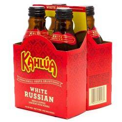 Kahlua White Russian - 4 Pack - 200ml...