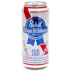 Pabst Blue Ribbon Beer 16oz