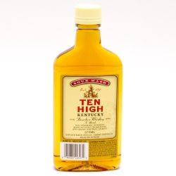 Ten High Kentucky Bourbon Whiskey 375ml