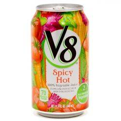 V8 Spicy Hot 11.5oz