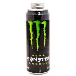 Monster Mega Energy Drink 24oz Can