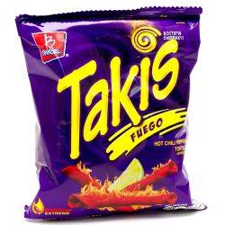 Takis Fuego Hot Chili Pepper &...