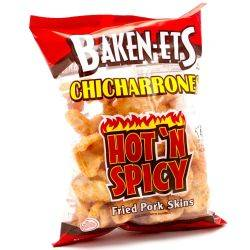 Baken-Ets Chicharrones Hot 'N...