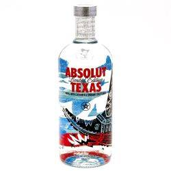 Absolut Limited Edition Texas 750ml