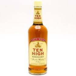 Ten High Kentucky Bourbon Whiskey 750ml