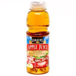 Langers Apple Juice 16oz