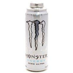 Monster Zero Ultra Energy Drink 24oz Can