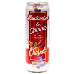Budweiser & Clamato Chelada 25oz