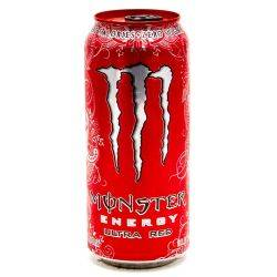 Monster Energy Drink Ultra Red 15.5oz...