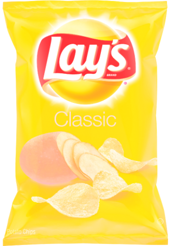 Lays 9.5oz bag of potato chips