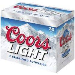 Coors Light - 30 pack