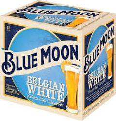 Blue Moon Belgian White 12 pack bottles