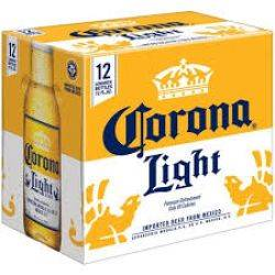 Corona Light - 12 pack bottles