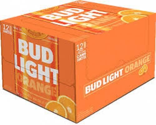Bud Light Orange - 12 pk cans