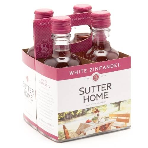 Sutter Home 4 pack White Zinfandel