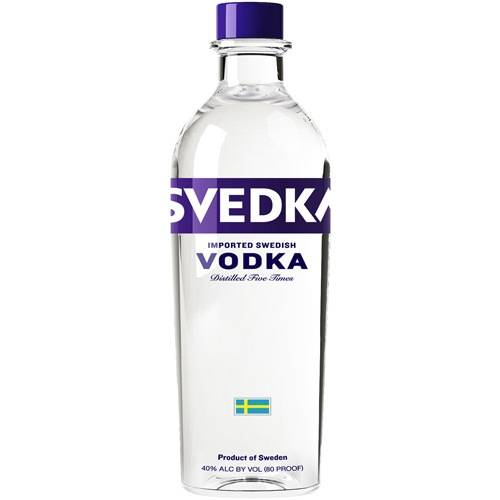 Svedka - Imported Swedish Vodka - 1.75L
