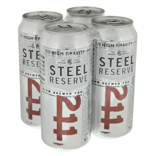 Steel Reserve 211 High Gravity Lager...